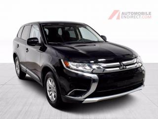 Used 2018 Mitsubishi Outlander ES AWD A/C Mags Sièges Chauffants Caméra for sale in Île-Perrot, QC