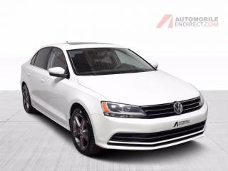 Used 2015 Volkswagen Jetta Trendline TSI Manuelle A/C Mags Toit GPS Caméra for sale in Île-Perrot, QC