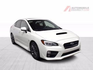 Used 2015 Subaru WRX AWD MANUELLE A/C BLUETOOTH CUIR TOIT GPS for sale in Île-Perrot, QC