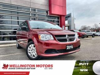 Used 2016 Dodge Grand Caravan Canada Value Package >> New Brakes & Rotors !! for sale in Guelph, ON