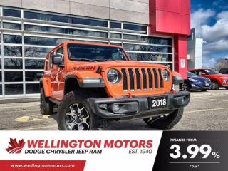Used 2018 Jeep Wrangler Unlimited Rubicon | Manual Transmission | 4X4 ... for sale in Guelph, ON