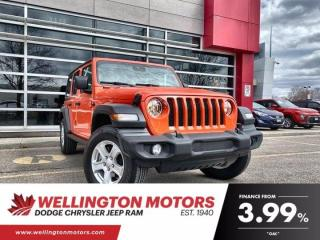 Used 2020 Jeep Wrangler Unlimited Sport / Cold Weather Group / Dual Top Group ... for sale in Guelph, ON