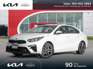 New 2021 Kia Forte EX+ $69.99 Week // 90 Days No Payments for sale in Mississauga, ON