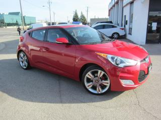 Used 2015 Hyundai Veloster Tech Package $9,995+HST+LIC FEE / CLEAN CARFAX / NAVIGATION/  CERTIFIED for sale in North York, ON