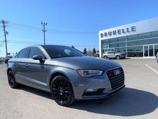 Used 2015 Audi A3 2.0T AWD 8 pneus for sale in St-Eustache, QC