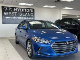 Used 2018 Hyundai Elantra GLS/CUIR/TOIT/CAM/CARPLAY/ADAPTIF for sale in Dorval, QC