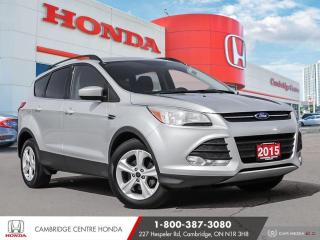 Used 2015 Ford Escape SE SATELLITE RADIO EQUIPPED | BLUETOOTH | REARVIEW CAMERA for sale in Cambridge, ON
