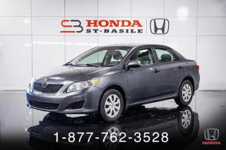 Used 2010 Toyota Corolla CE + BEAU + BON + PAS CHER + WOW! for sale in St-Basile-le-Grand, QC