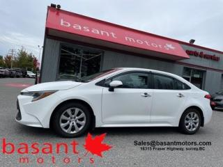Used 2020 Toyota Corolla LE, Backup Cam, Toyota Safety Sense!! for sale in Surrey, BC