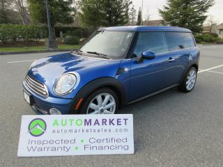 Used 2009 MINI Cooper Clubman LOCAL, B/TOOTH, CAMERA, ROOF, INSP, FINANCE, WARR & BCAA MBSHP for sale in Surrey, BC
