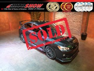 Used 2017 Subaru WRX STI w/ Ground Effects, Graphics & AWE Exhaust !! for sale in Winnipeg, MB