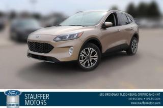 New 2021 Ford Escape SEL for sale in Tillsonburg, ON