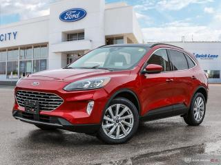 New 2021 Ford Escape Titanium for sale in Winnipeg, MB