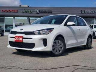 Used 2020 Kia Rio 5-Door BACK UP CAM | FUEL EFFICIENT | 5-DOOR for sale in Listowel, ON