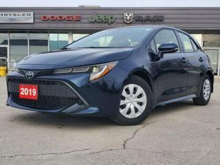 Used 2019 Toyota Corolla Hatchback LANE DEPARTURE | TOUCHSCREEN | FUEL EFFICIENT for sale in Listowel, ON