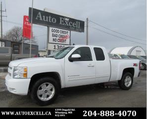 Used 2011 Chevrolet Silverado 1500 LTZ EXTENDED CAB, LEATHER, 4X4, 6 MONTH POWERTRAIN WARRANTY for sale in Winnipeg, MB