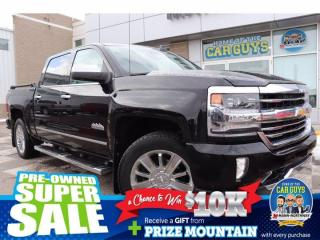 Used 2017 Chevrolet Silverado 1500 High Country | Bose Audio, Bluetooth. for sale in Prince Albert, SK