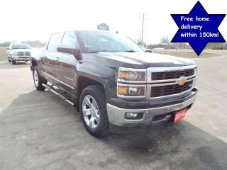 Used 2014 Chevrolet Silverado 1500 LTZ Leather Navigation New tires Only 118000 km for sale in Gorrie, ON