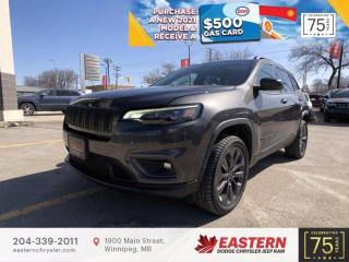 New 2021 Jeep Cherokee 80th Anniversary | Pano Sunroof | Backup Cam | for sale in Winnipeg, MB