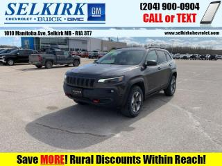 Used 2019 Jeep Cherokee Trailhawk  *SUNROOF, HEATED LEATHER* for sale in Selkirk, MB
