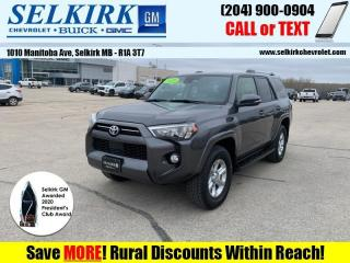 Used 2020 Toyota 4Runner SR5  *HEATED SEATS, SUNROOF* for sale in Selkirk, MB