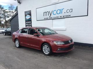 Used 2017 Volkswagen Jetta Wolfsburg Edition SUNROOF, PWR HEATED SEATS, ALLOYS, BACKUP CAM!! for sale in Richmond, ON