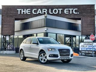 Used 2017 Audi Q5 2.0T Komfort AWD!! LEATHER!! SUNROOF!! HEATED SEATS!! for sale in Sudbury, ON