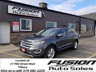 Used 2016 Ford Edge SEL-AWD-LEATHER-HEATED SEATS-REAR CAMERA-BLUETOOTH for sale in Tilbury, ON