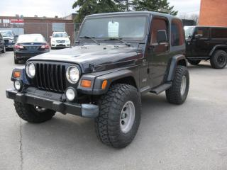 Used 1998 Jeep TJ T J for sale in Toronto, ON