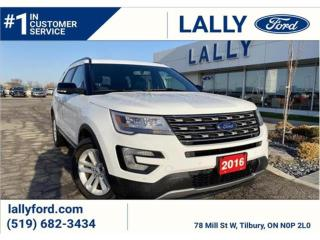 Used 2016 Ford Explorer XLT,  One Owner, Local Trade, Mint!! for sale in Tilbury, ON
