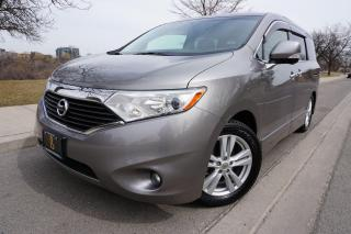 Used 2013 Nissan Quest LE / NO ACCIDENTS / LOCAL / DVD / STUNNING SHAPE for sale in Etobicoke, ON