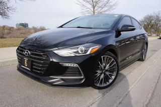 Used 2017 Hyundai Elantra RARE / SPORT /6 SPEED /NO ACCIDENTS /DEALER SERVIC for sale in Etobicoke, ON