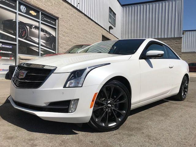 2017 Cadillac ATS Luxury AWD COUPE! AWD! CARBON BLACK PKG! SUNROOF!