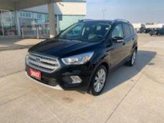 Used 2017 Ford Escape Titanium for sale in Tilbury, ON