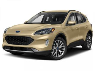 New 2021 Ford Escape Titanium Hybrid 0% APR | NAV | ROOF | ELLITE PKG for sale in Winnipeg, MB