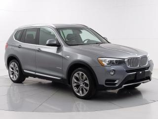Used 2016 BMW X3 xDrive28i Enhanced Accident Free, 2 Sets of Tires, Moonroof, Memory Seat for sale in Winnipeg, MB