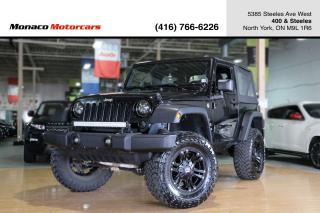 Used 2015 Jeep Wrangler SPORT 4WD 6-SPEED MANUAL W/ SOFT TOP for sale in North York, ON