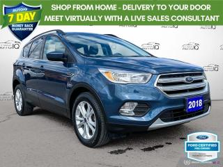 Used 2018 Ford Escape SE FWD Bluetooth/Heated Seats/Sync 3 for sale in St Thomas, ON