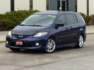 Used 2009 Mazda MAZDA5 GT,LEATHER,LOADED,SUNROOF,NO-ACCIDENT,CERTIFIED for sale in Mississauga, ON