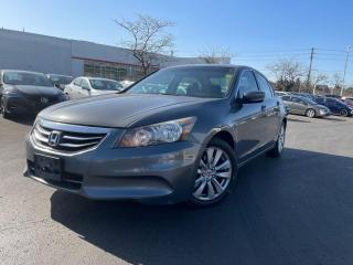Used 2012 Honda Accord EX-L,NAVIGATION,BACKUP-CAMERA,LEATHER,CERTIFIED, for sale in Mississauga, ON