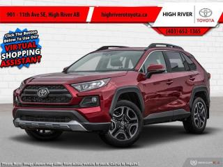 New 2021 Toyota RAV4 Trail  - Leather Seats -  Sunroof for sale in High River, AB