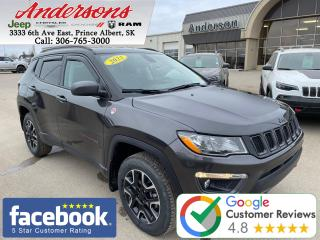 Used 2021 Jeep Compass Trailhawk *Heated Seats/Command Start* for sale in Prince Albert, SK