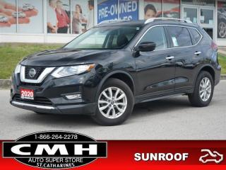 Used 2020 Nissan Rogue AWD SV  CAM LANE-DEP HTD-SEATS REM-START 17-AL for sale in St. Catharines, ON