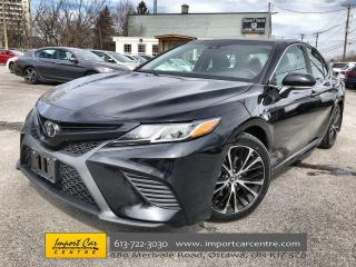 Used 2018 Toyota Camry SE ALLOYS  ROOF  HTD SEATS  BACKUP CAM for sale in Ottawa, ON