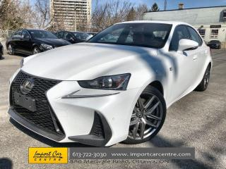 Used 2018 Lexus IS 350 F-SPORT 2  LEATHER  NAVI  BLIS  HTD SEATS  BACKUP for sale in Ottawa, ON