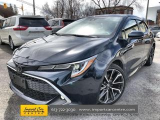 Used 2020 Toyota Corolla Hatchback RARE XSE  ALLOYS  NAVI  HTD STEERING  ADAPTIVE CRU for sale in Ottawa, ON