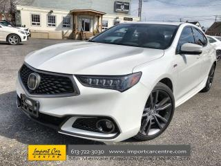 Used 2018 Acura TLX Elite A-Spec A-SPEC  LEATHER  ROOF  NAVI  BLIS  HT for sale in Ottawa, ON