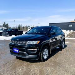 Used 2018 Jeep Compass 4X4 SPORT for sale in Kapuskasing, ON