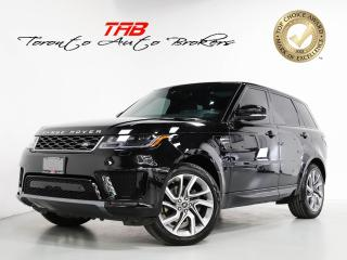 Used 2019 Land Rover Range Rover Sport Td6 HSE DIESEL I 21 IN WHEELS I HUD I NAVI I PANO for sale in Vaughan, ON