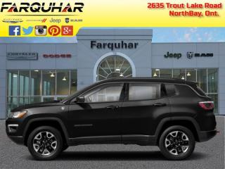 Used 2018 Jeep Compass Trailhawk - Sunroof - Navigation - $151 B/W for sale in North Bay, ON